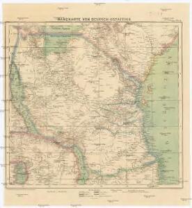 Handkarte von Deutsch-Ostafrika
