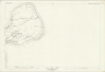 Cornwall XXX.10 (includes: Bere Ferrers; Calstock; Tavistock Hamlets) - 25 Inch Map
