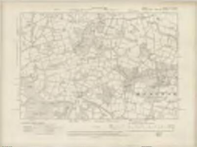 Surrey XLVII.NW - OS Six-Inch Map