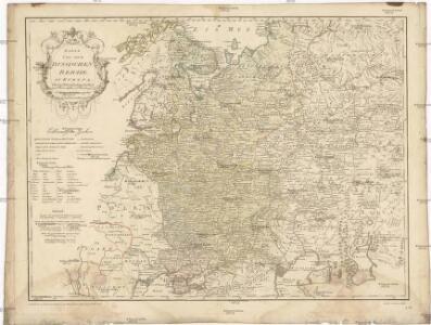 Karte von dem russischen Reiche in Europa