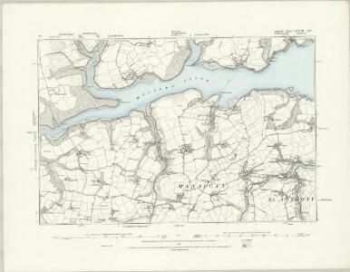 Cornwall LXXVI.NE - OS Six-Inch Map
