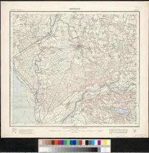 Meßtischblatt [8323] : Tettnang, 1908