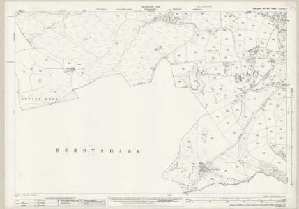 Yorkshire CCXCVIII.9 (includes: Holmesfield; Sheffield) - 25 Inch Map