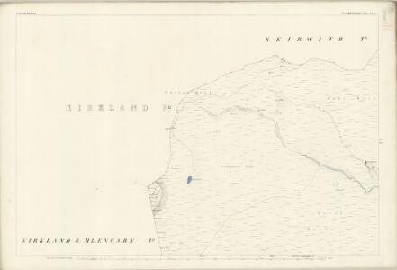 Cumberland LI.8 (includes: Alston with Garrigill) - 25 Inch Map
