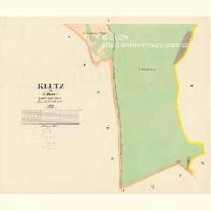 Kletz - c3138-1-004 - Kaiserpflichtexemplar der Landkarten des stabilen Katasters