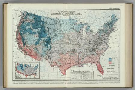 Average Dates of First Killing Frosts in Fall.  Atlas of American Agriculture.