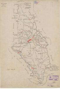 Mapa planimètric de Piera