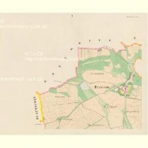 Pratzowitz (Pracowice) - c6065-1-001 - Kaiserpflichtexemplar der Landkarten des stabilen Katasters