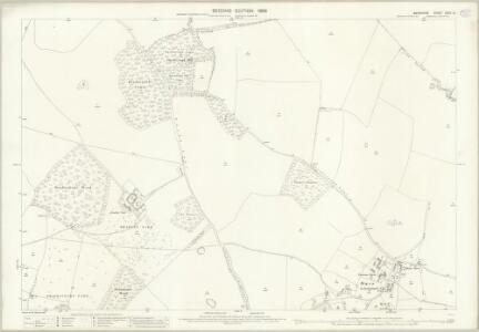 Berkshire XXVII.14 (includes: Chieveley; Hampstead Norris; Hermitage) - 25 Inch Map