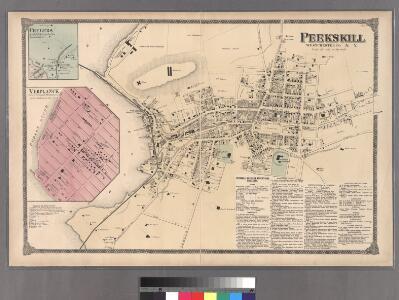 Plate 60: Peekskill, Westchester Co. N.Y.