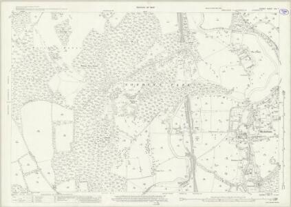 Surrey XXV.7 (includes: Fetcham; Mickleham) - 25 Inch Map