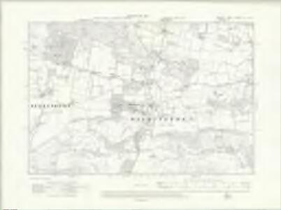 Sussex LI.NW - OS Six-Inch Map