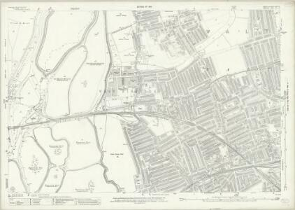 Essex (New Series 1913-) n LXXVII.8 (includes: Walthamstow) - 25 Inch Map
