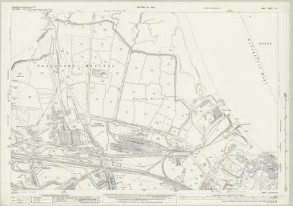 Kent X.1 (includes: Northfleet; Swanscombe) - 25 Inch Map