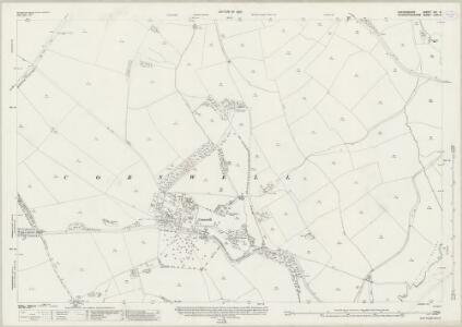 Oxfordshire XIV.9 (includes: Adlestrop; Chastleton; Cornwell; Kingham; Salford) - 25 Inch Map