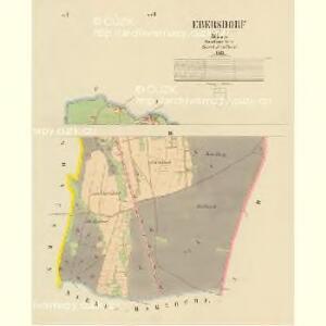 Ebersdorf - c1729-1-002 - Kaiserpflichtexemplar der Landkarten des stabilen Katasters