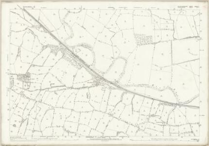 Staffordshire XXXII.7 (includes: Doveridge; Marchington; Uttoxeter Rural; Uttoxeter) - 25 Inch Map