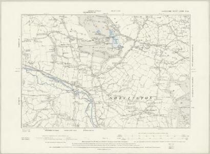 Lancashire LXXIII.SE & LXXXI.NE - OS Six-Inch Map