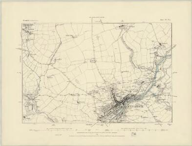 Devonshire CV.NW - OS Six-Inch Map
