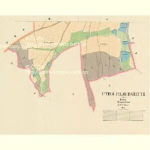Unter Pilmersreuth - c1357-1-002 - Kaiserpflichtexemplar der Landkarten des stabilen Katasters