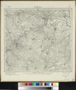 Meßtischblatt 3122 : Blankenburg / Schwarzatal, 1915