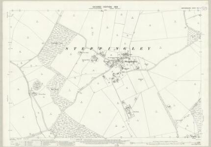 Bedfordshire XXV.2 (includes: Eversholt; Flitwick; Ridgmont; Steppingley) - 25 Inch Map