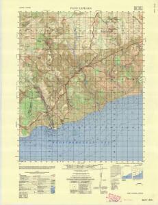 Cyprus 1:50,000, Pano Lefkaria