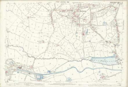 Worcestershire V.15 (includes: Birmingham) - 25 Inch Map
