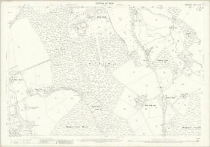 Hampshire and Isle of Wight LIV.14 (includes: Damerham; Rockbourne) - 25 Inch Map