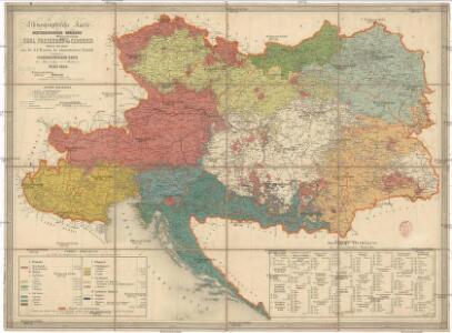 Etnographische Karte der Oesterreichischen Monarchie