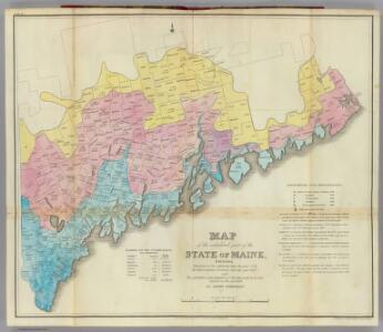 Maine, inhabited part.