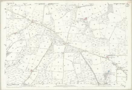 Devon XXXIII.12 (includes: Loxbeare; Rackenford; Stoodleigh; Templeton; Tiverton; Witheridge) - 25 Inch Map