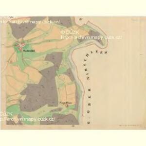 Böhm. Gillowitz - c2059-2-002 - Kaiserpflichtexemplar der Landkarten des stabilen Katasters