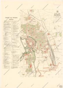 Plan von Budweis
