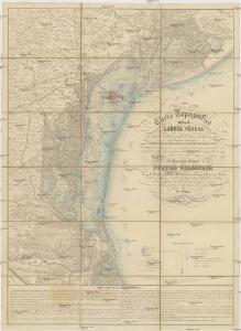Carta topografica della Laguna Veneta