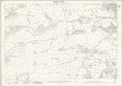 Yorkshire CC.3 (includes: Keighley) - 25 Inch Map