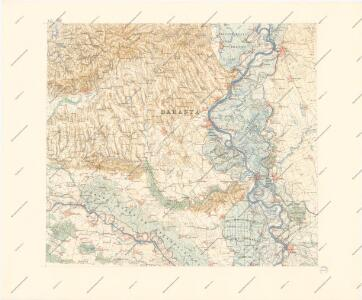 A Dunavölgy Átnézeti Térképe, Carte d ́ensemble del la Vallée du Danube XIX.