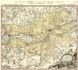 Carte du Comté de Namvr