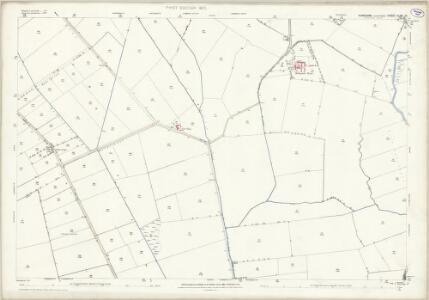 Yorkshire CLXII.10 (includes: Beeford; Harpham; Kelk; Nafferton; Skerne) - 25 Inch Map