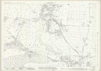 Derbyshire XII.16 (includes: Eckington) - 25 Inch Map
