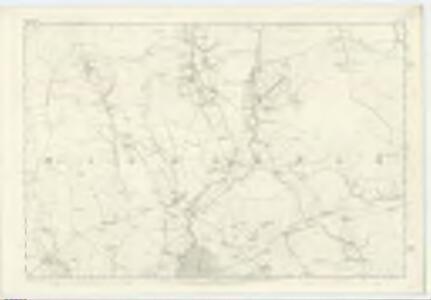 Dumfriesshire, Sheet LII - OS 6 Inch map