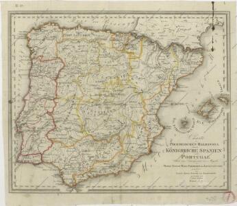 Charte der Piraeneischen Halbinsel oder der Königreiche Spanien und Portugal