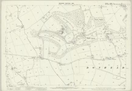 Dorset IV.15 (includes: Cann; Donhead St Mary; Shaftesbury) - 25 Inch Map
