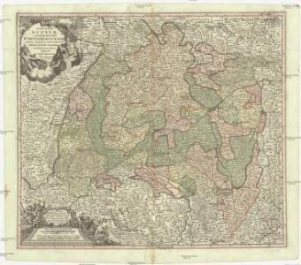 S.R.I. circulus Sueviae continens ducatum Wirtenbergensem alisq. status et provincias eidem circulo insertas