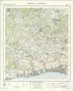 Brighton and Worthing - OS One-Inch Map
