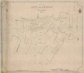 City of Sydney, Section 92, Sheet 2, 2nd ed. 1897