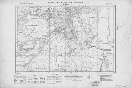 Africa 1:250,000, Sudan, Mt. Naita