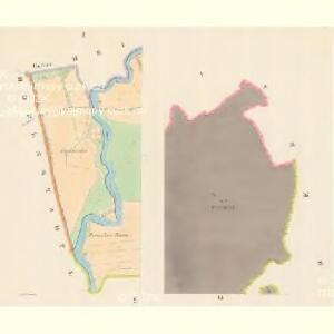 Lesnitz - m1497-1-001 - Kaiserpflichtexemplar der Landkarten des stabilen Katasters