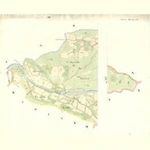 Mitter Beczwa (Prostředny Beczwa) - m2424-1-010 - Kaiserpflichtexemplar der Landkarten des stabilen Katasters