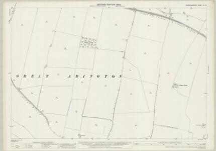 Cambridgeshire LV.13 (includes: Great Abington; Hildersham; Linton; Pampisford) - 25 Inch Map